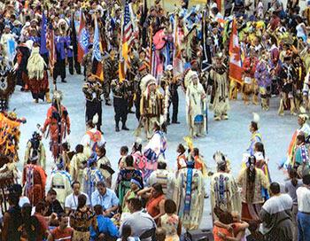 Pow Wow Grand Entrance, USA National Pow Wow