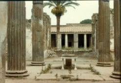 My Adventures Touring Europe in 1982 (18) Pompeii and Tivoli Gardens