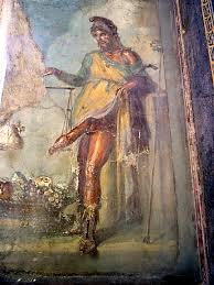 Priapus, the God of Fertility and Good Luck.