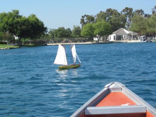 Select the canoe...