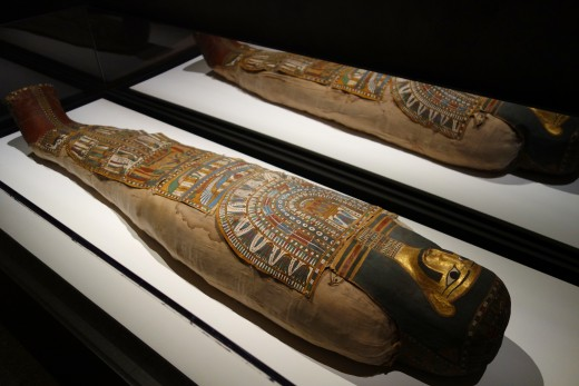 Mummy of Egyptian adult male, Ptolemaic period, 332 BC to 30 AD - Cincinnati Art Museum