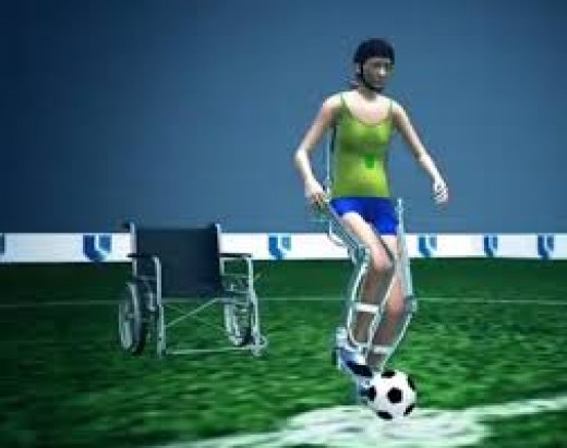 A paraplegic teenager will take the first kick of the 2014 World Cup