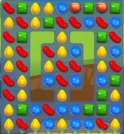 Candy Crush Level 34 - Not as Hard as it Seems