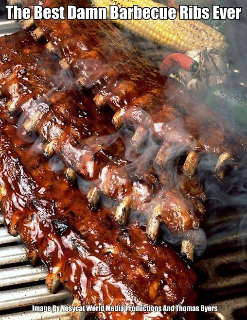 Here are some of the best Barbecue Ribs that you'll ever eat in your life. Don't they look so very delicious.