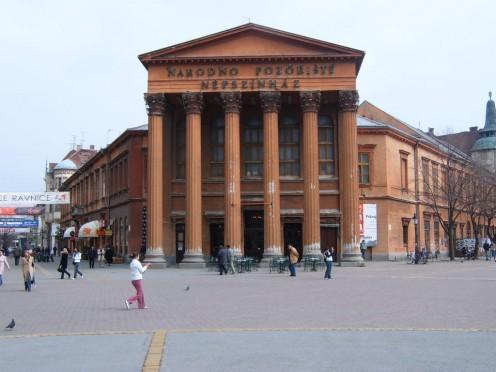 National Theatre, Subotica, Serbia