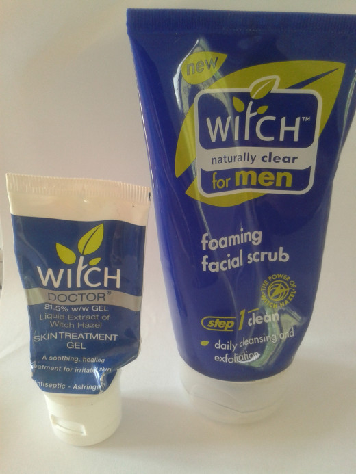 """Witch"" Products - ""Doctor Gel"" and Face Wash"