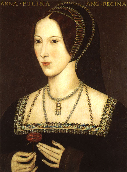Anne Boleyne - went to her execution in a most dignified manner.
