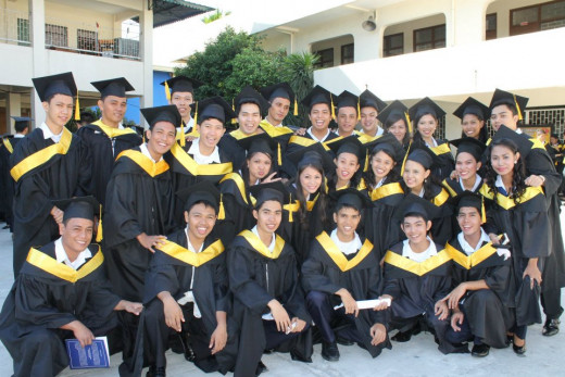 Class of 2013, Bachelor of Science in Accountancy. Former students of author in Management Accounting