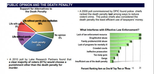 Public regarding the death penalty