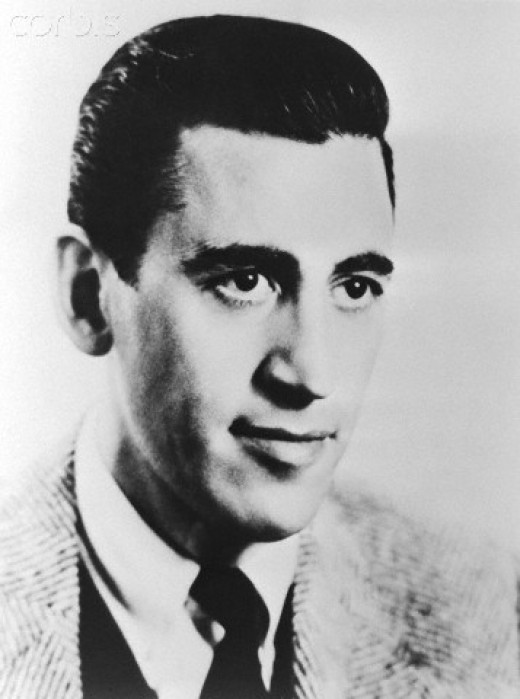 """J.D. Salinger, """"A Catcher in The Rye,"""" one of my favorite authors."""