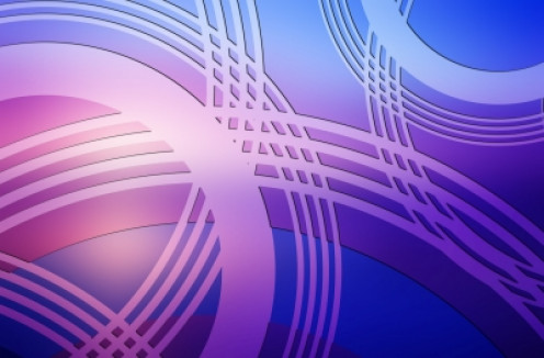 Vector image of cerchi colorati