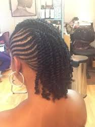 2 strand twists, a very common and popular protective style