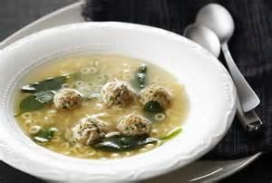 Wedding Soup with Meatballs