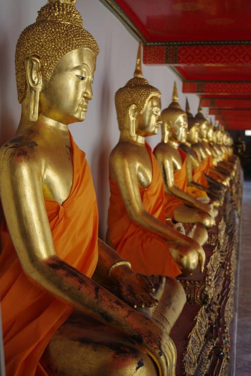 Bhuddist Temple Temple Bangkok Thailand