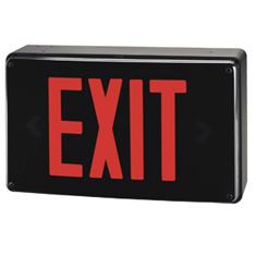 Mule Lighting Wet Location LED Exit Sign