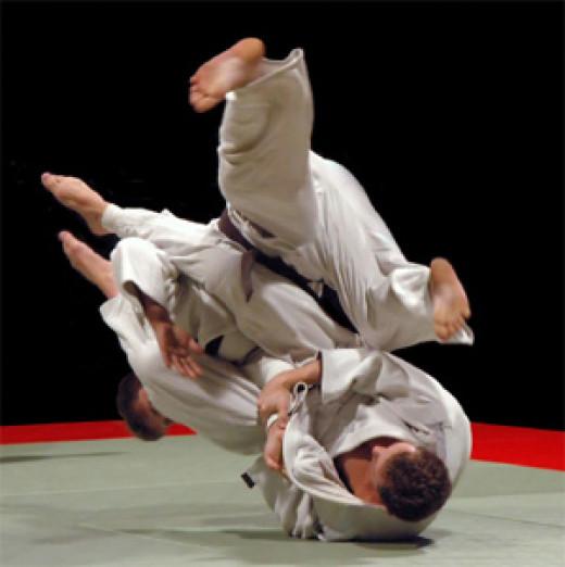 A Brzailian Jiu-Jitsu throw