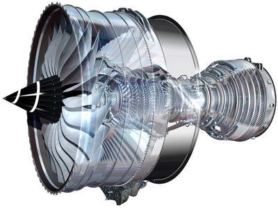 RollsRoyce Trent - XWB Jet Engine