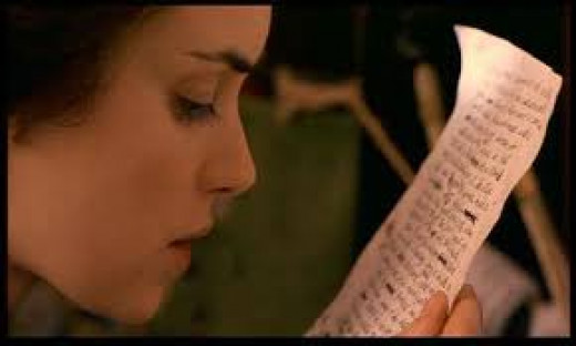 """Jo March can't get published until she writes a book based on her life in, """"Little Women"""" (1994)."""