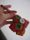 How to Make a Square Motif Purse Using a Rainbow Loom