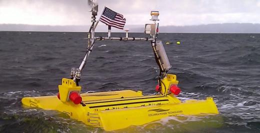Yellow Tidal Energy Device
