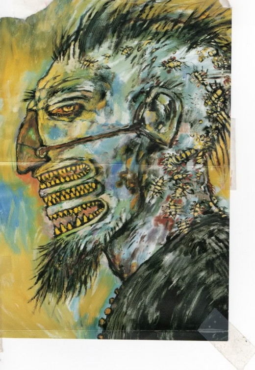 Image from Clive Barker's monster