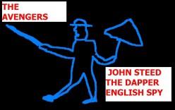 John Steed of The Avengers.