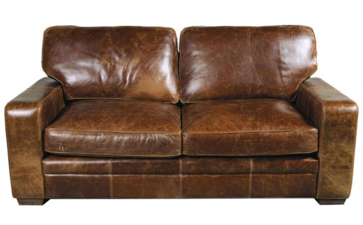 Aniline Leather Sofa