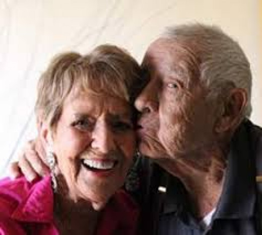 old and happy couples