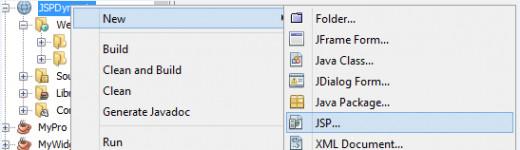 Figure 6: Create a new JSP file