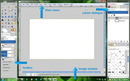 GIMP's main features
