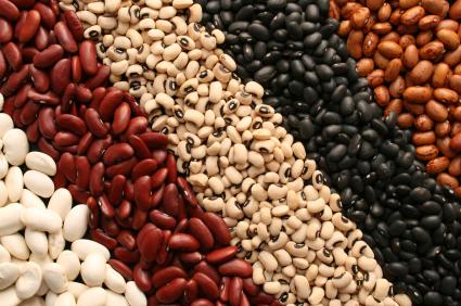 Organic beans.
