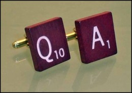 Scrabble Tile Cuff Links - Why Not Choose Your Initials?