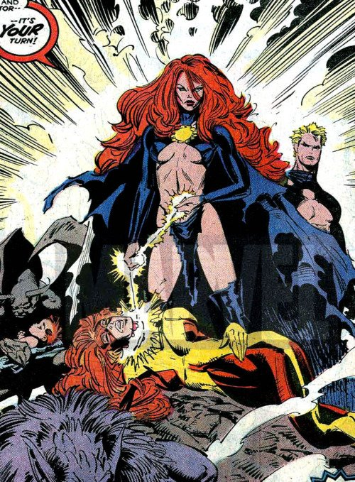 Madelyne Pryor Goblin Queen Costume