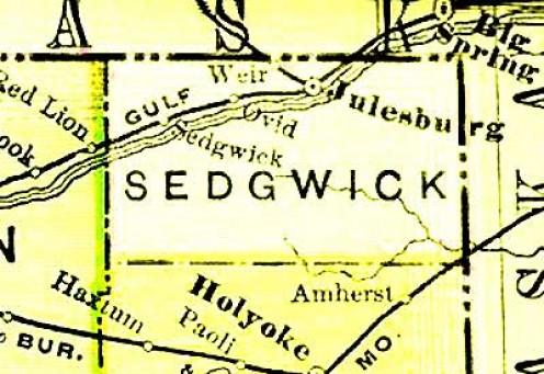 1895 Atlas    Courtesy of:  http://www.livgenmi.com/1895/CO/County/sedgwick.htm