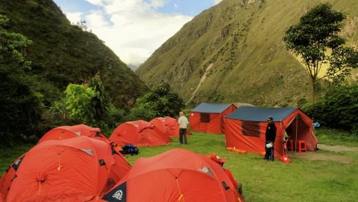 Machu Picchu Camping