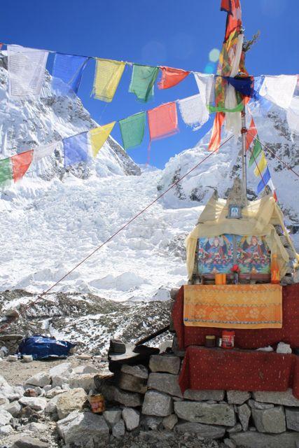 Everest Base Camp and Khumbu Glacier