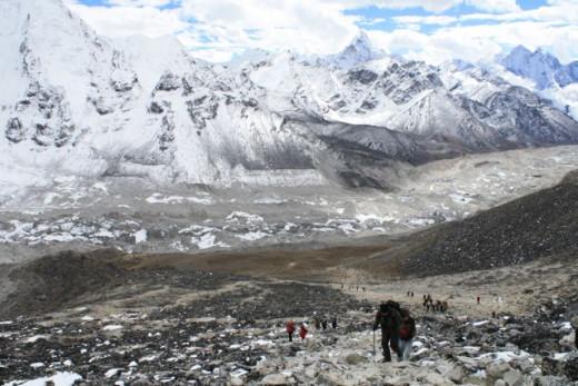 Trail to Kala Patthar