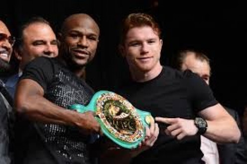 Floyd Mayweather has been in a bunch of All Access shows including this one against Saul Canelo Alvarez.