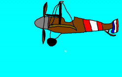 Inventions such as the box kite eventually led to the developments of planes such as this French World War One fighter.