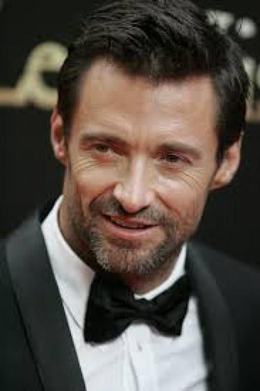 Hugh Jackman- Handsome, rugged, rich.