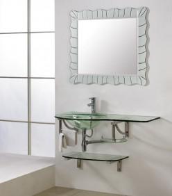 Popular Styles and Designs in Glass Bathroom Vanities