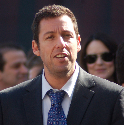 Adam Sandler- Comedies ultimate funny man. The earnings are the proof.