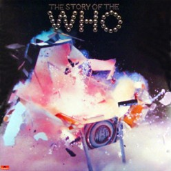 """Cover for """"Story of the Who"""""""