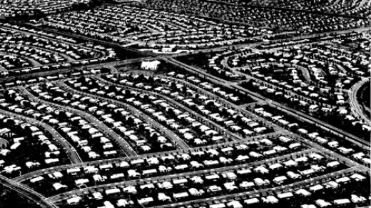 An aspect of post-World War II life was the expansion and development of suburbs.