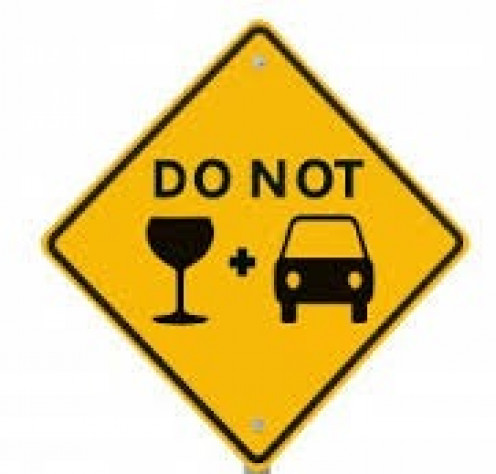 Never drink alcohol while operating a vehicle because you can seriously injure yourself or others.