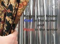 Solar curtains keeps your home cool during summer and warm during winter