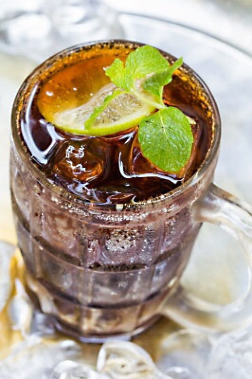 Drinking an ice-cold cola on a hot day can trigger a brain freeze.