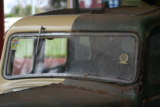 It is hard to fully appreciate the amount of time and effort that goes into restoring a rusty old vintage car until you see 'before' and 'after' side by side.