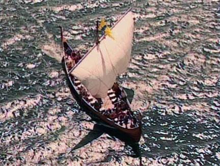 Braendings Slange leaves Bosanham under sail for the east coast and Jorvik