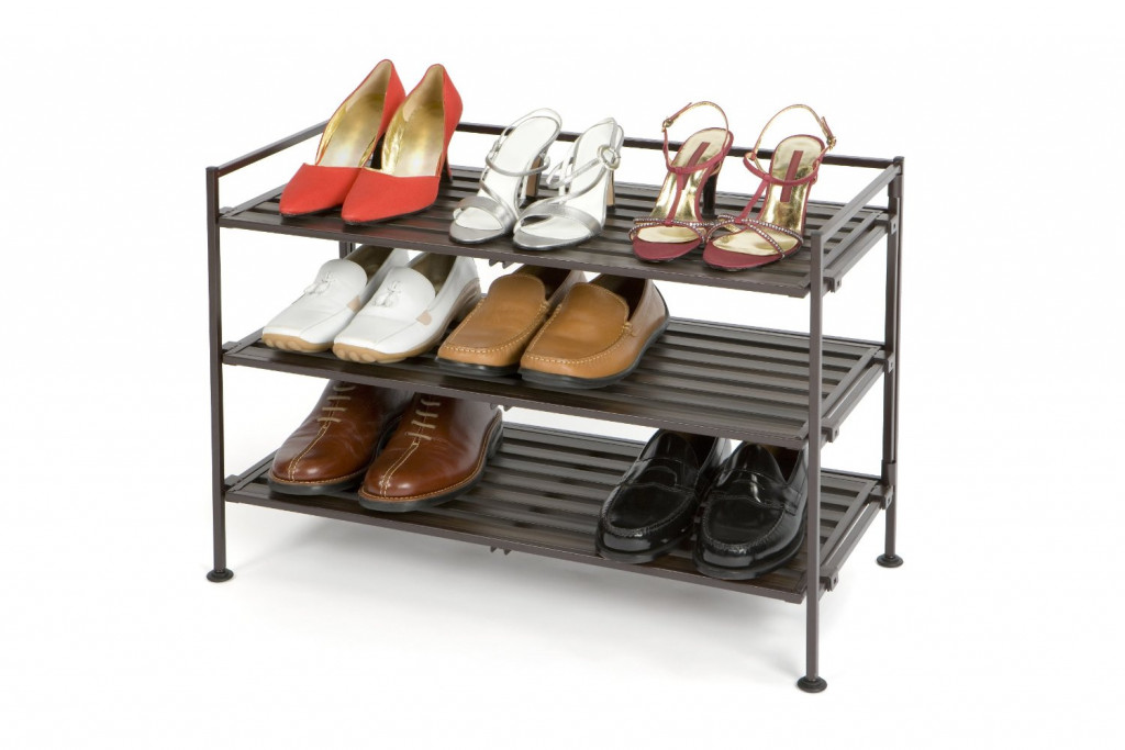 The best shoe rack for closet floor - Shoe rack for small spaces image ...